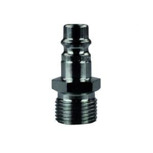 Raccord Paoli pour tuyau pneumatique série standard - male 3/8x19 BSP