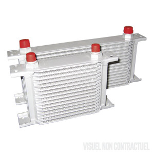 Radiateur d'huile - matrice 235mm -  7 rangées - filetage BSP 1/2x14
