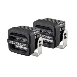 Rampe de phare projecteurs IPF 2 pouces 4 LEDS conso 44W (la paire)