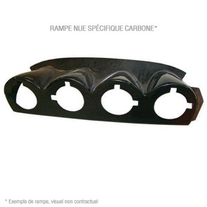 Rampe de phares nue Ford Fiesta R2 Special 985 + AB Carbone