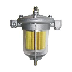 Régulateur pression essence King 85mm bocal verre 1/8NPTF