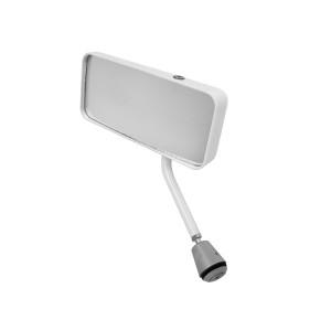 Rétroviseur Touring Gt miroir plat coloris blanc côté gauche