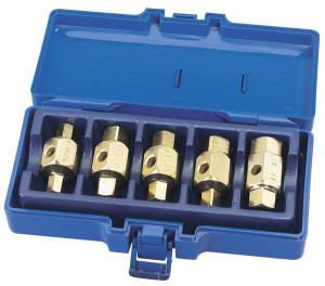 Set de 5 clés de vidange Draper