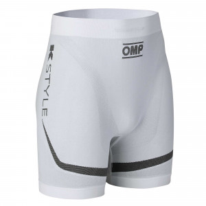 Short OMP KS Summer Karting blanc