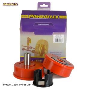 Silentbloc pour support moteur inférieur arrière - powerflex diesel
