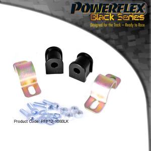 Silentbloc Powerflex Citroen Saxo Peugeot 106 Ar triangle Av 2pcs BLK