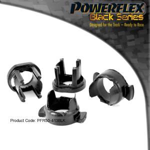 Silentbloc powerflex insert arrière de train arrière Peugeot 206 BLK