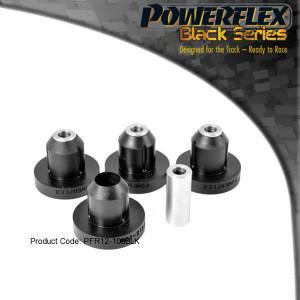 Silentbloc powerflex train arrière m10 106 Ax 4 pièces BLK