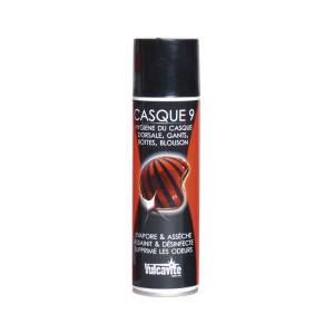 Spray Vulcanet Casque 9 évaporateur sueur/désinfectant casque 250ml