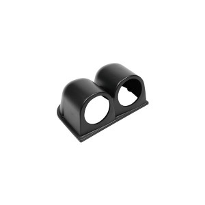 Support 2 manomètre diamètre 52mm noir