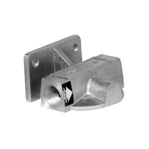 Support filtre à huile gauche/droite 1/2 BSP Vis JIC 3/4 entrée sonde