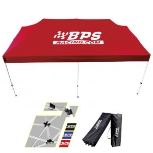 Tente d'assistance BPS Racing 2020 - 3x6m - Rouge