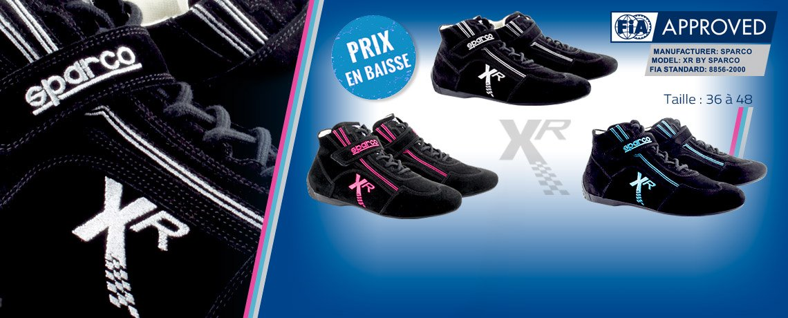 Bottines Fia Xr by Sparco en promo
