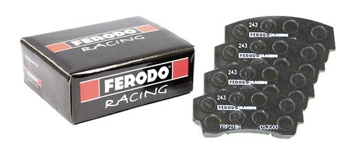 Plaquettes de frein ds 3000 ferodo racing