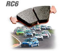 Plaquettes de frein Carbone Lorraine RC6