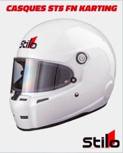 Casques Stilo karting